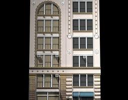 nyc historical buildings facades 3d model