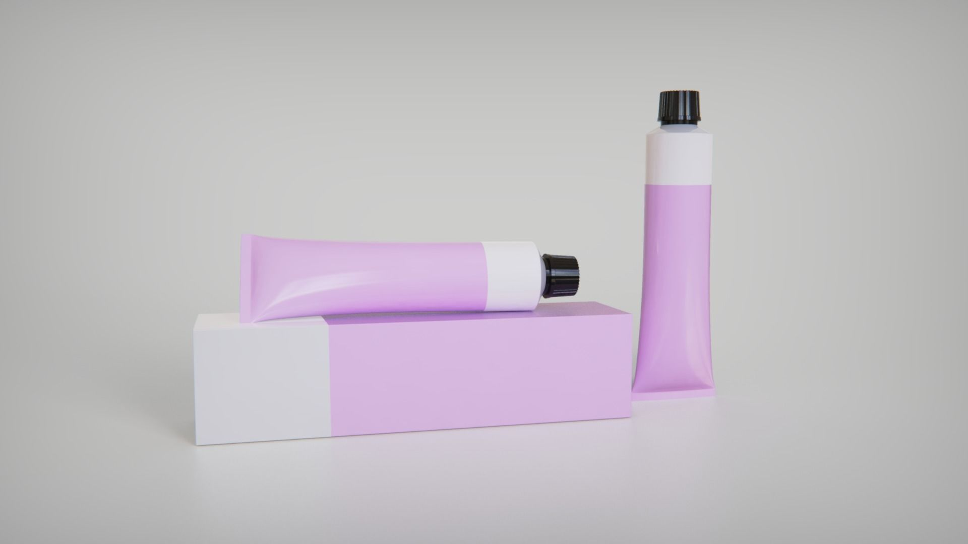 Cosmetic Tube With Box
