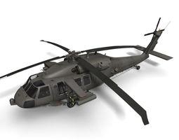 UH-60M Battlehawk 3D Model