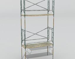 3D model Scaffold 1