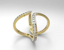 3D printable model ring eternity