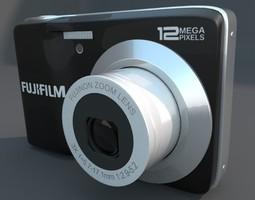3D model Fuji av 100 Digital Camera