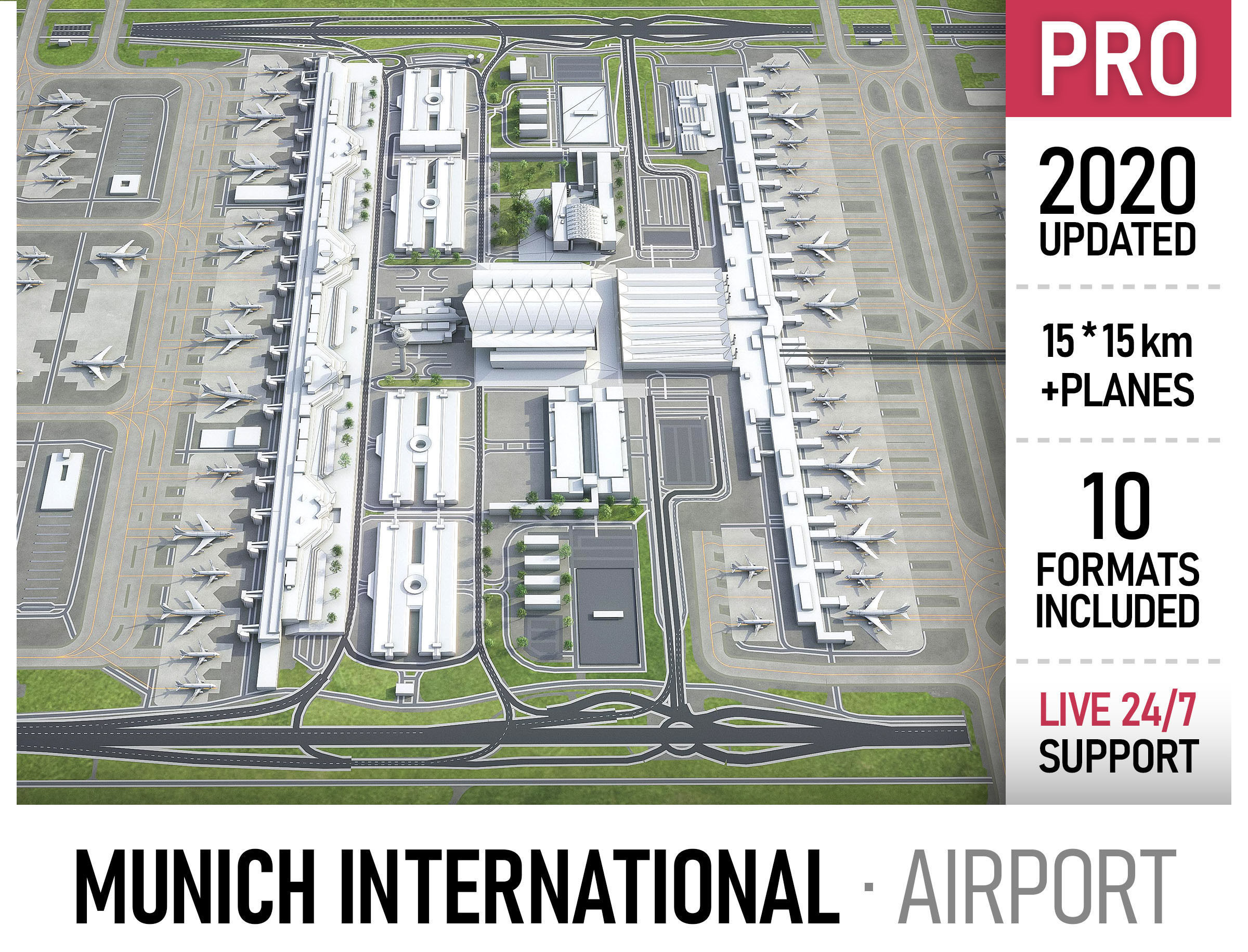 Munich International Airport - MUC