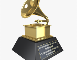 3D Grammy Award