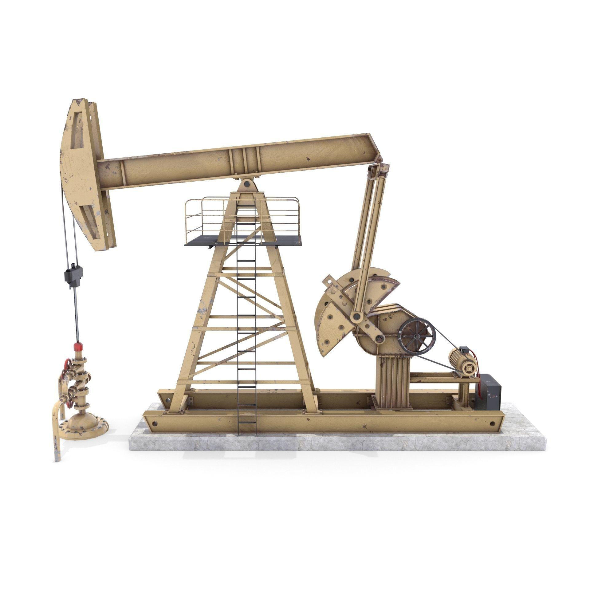 Oil Pumpjack 3