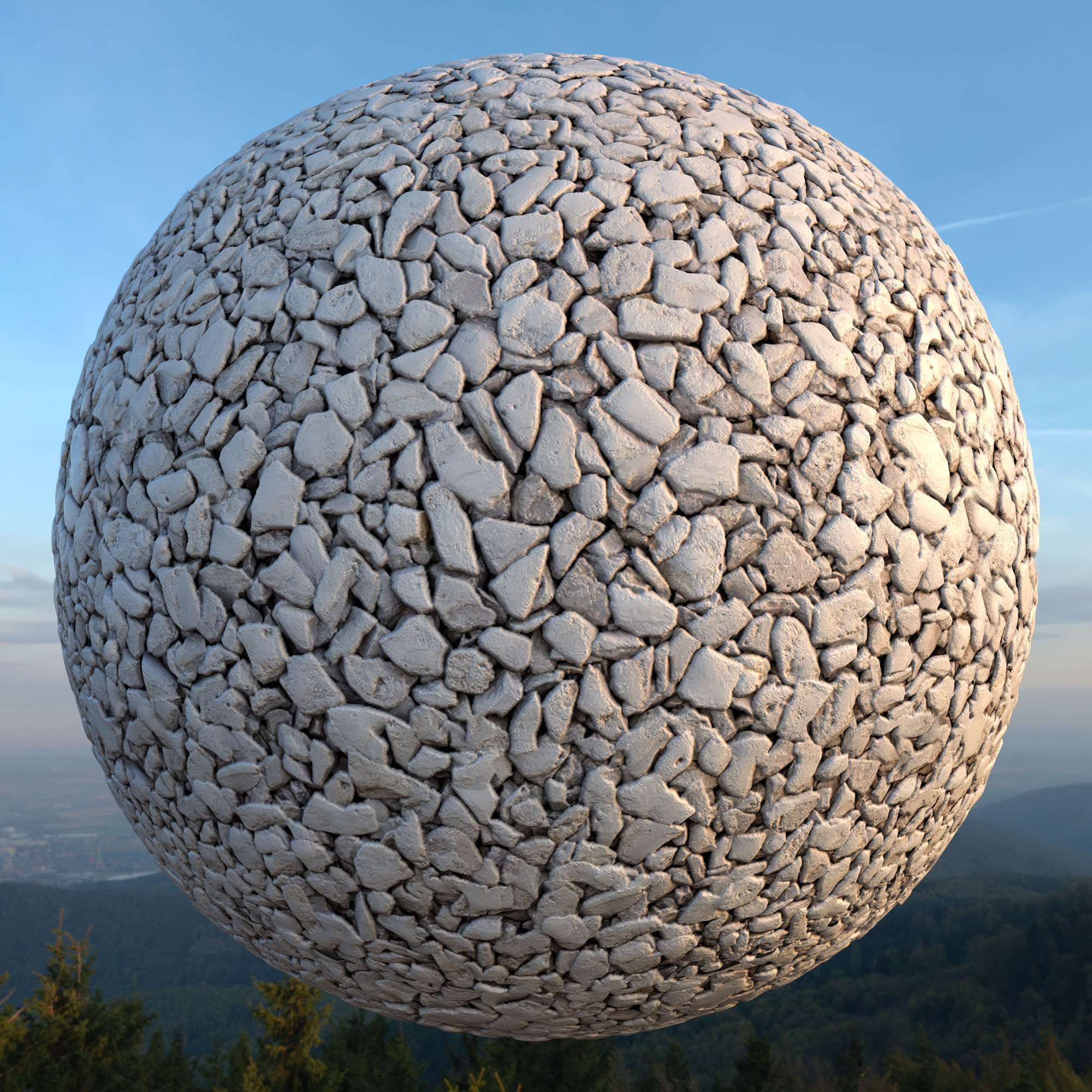 PEBBLES texture with maps