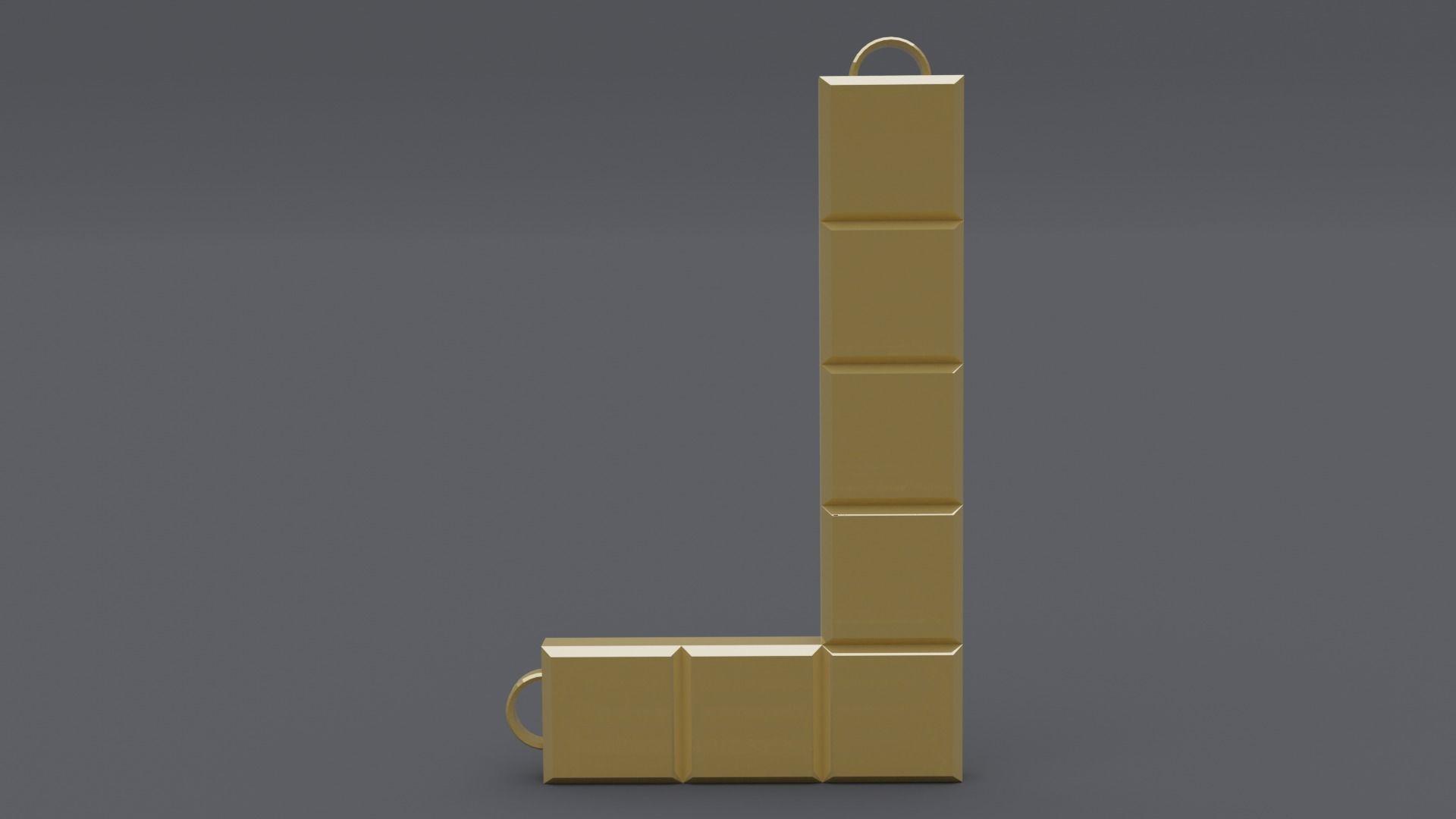 rgd L tetris style pendant mk2