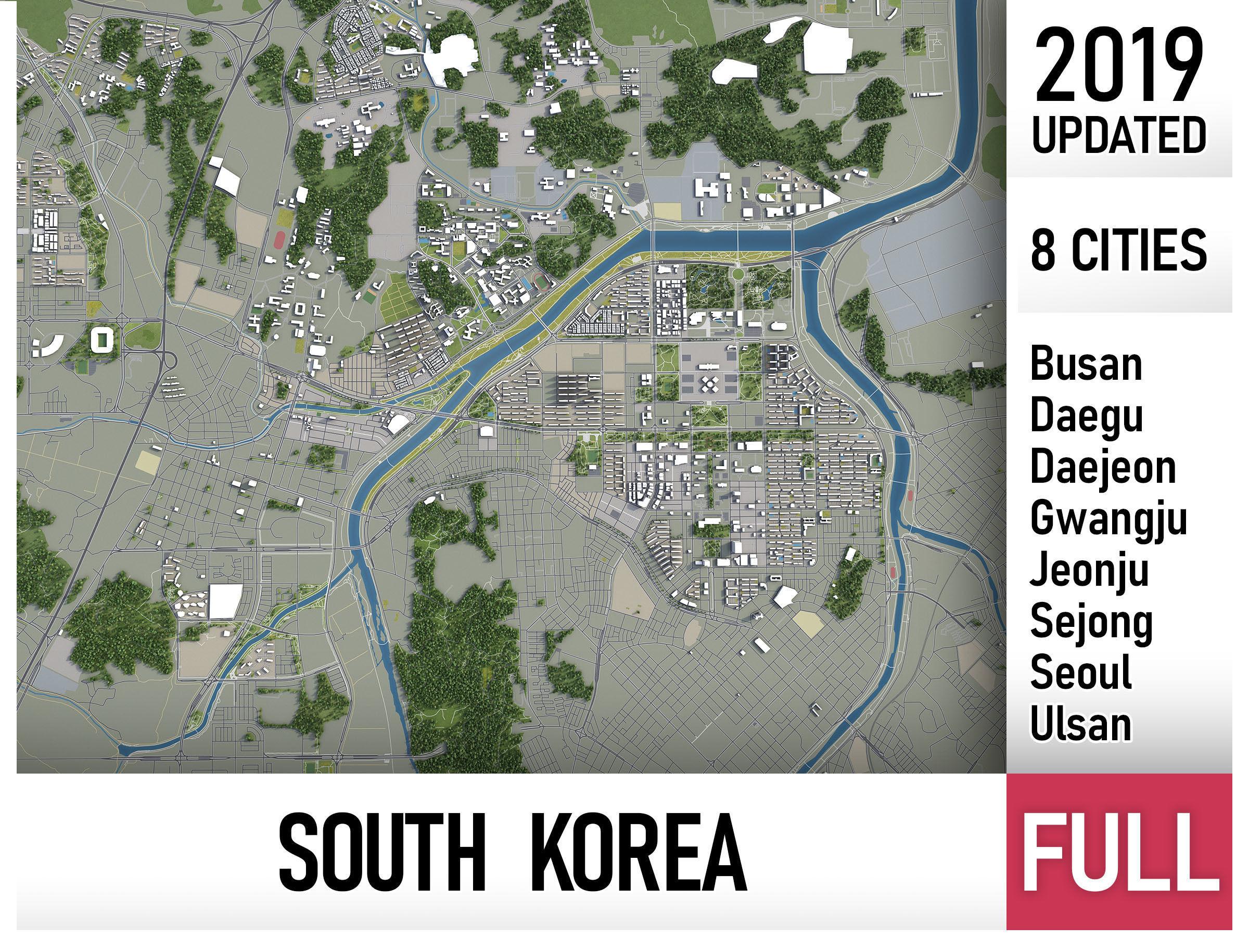 South Korea - all cities