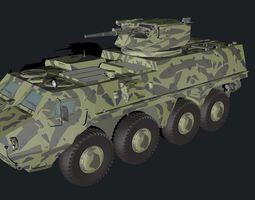3d btr - 4 parus module