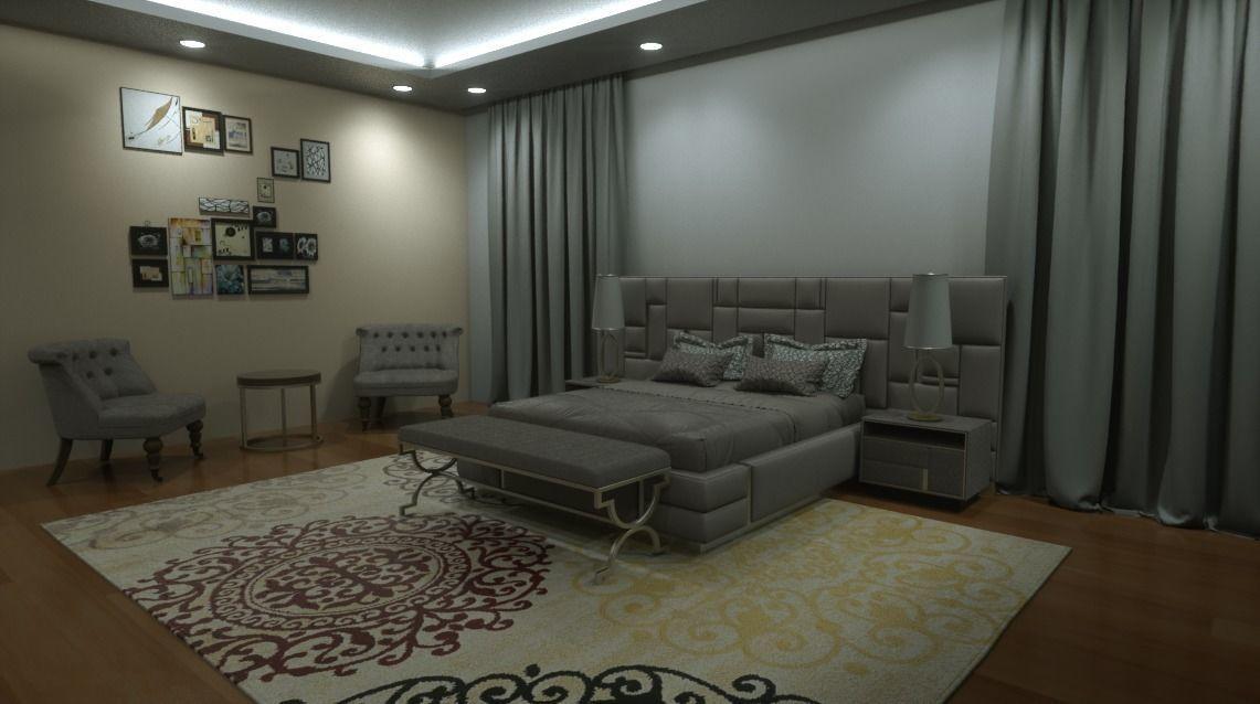 Chambre a coucher | 3D model