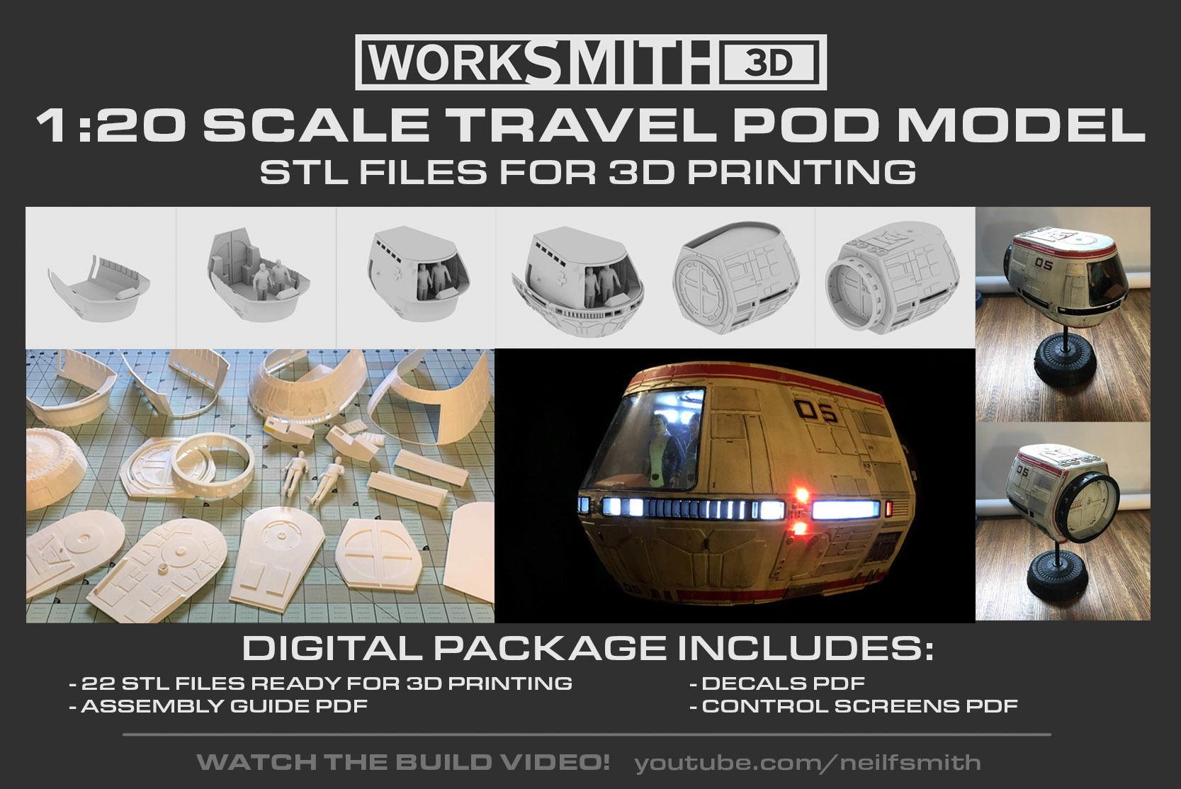 Star Trek TravelPod model kit