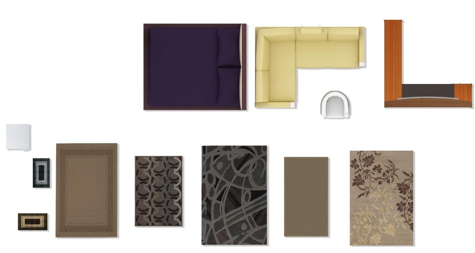 psd 2d floorplan furniture 3d model cgtrader psd 2d floorplan furniture 3d model