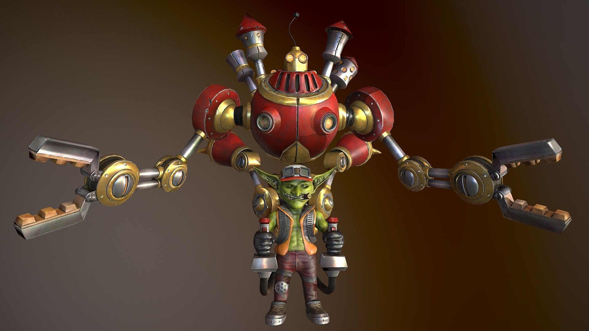 3d Asset Gazlowe Heroes Of The Storm Replica Cgtrader Knoll king on the loose. gazlowe heroes of the storm replica 3d model