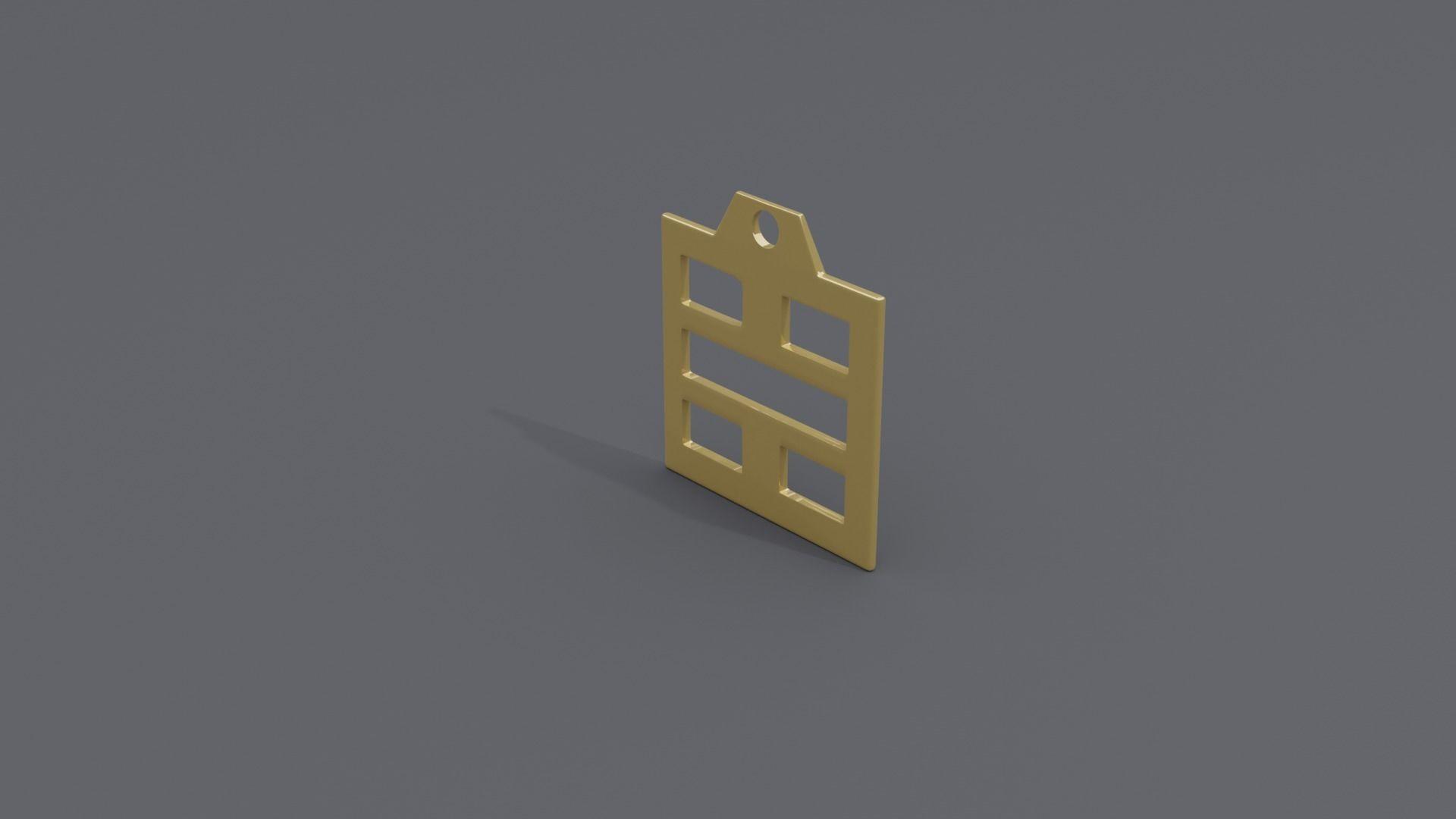 rgd kan trigram pendant mk3