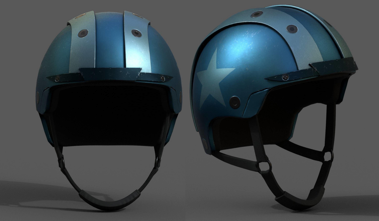 Helmet sport scifi bike coloring model fantasy human Hat