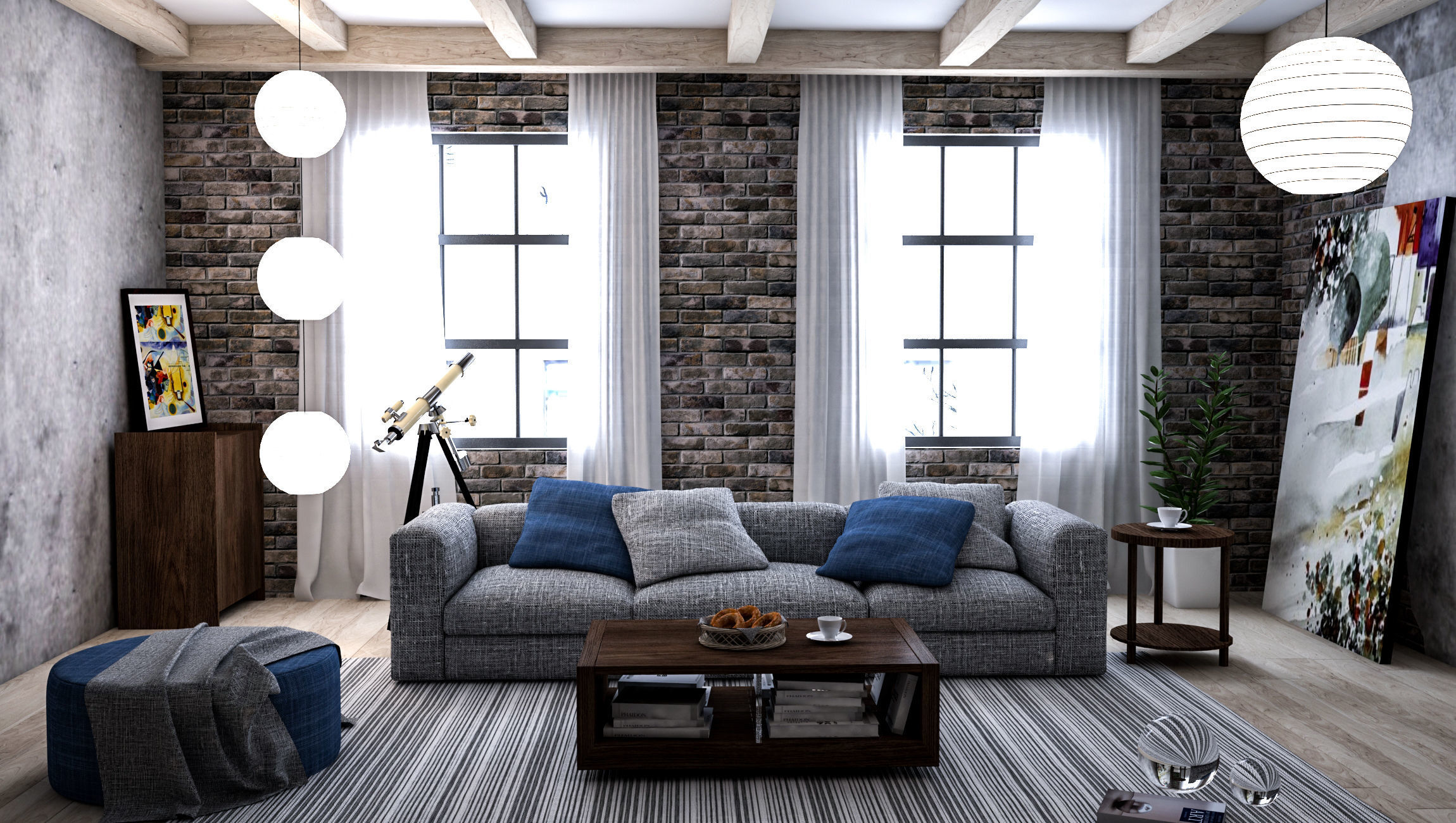Interior Design 3 3d Model Cgtrader