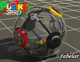 rubik 360 3d model max obj 3ds fbx lwo lw lws