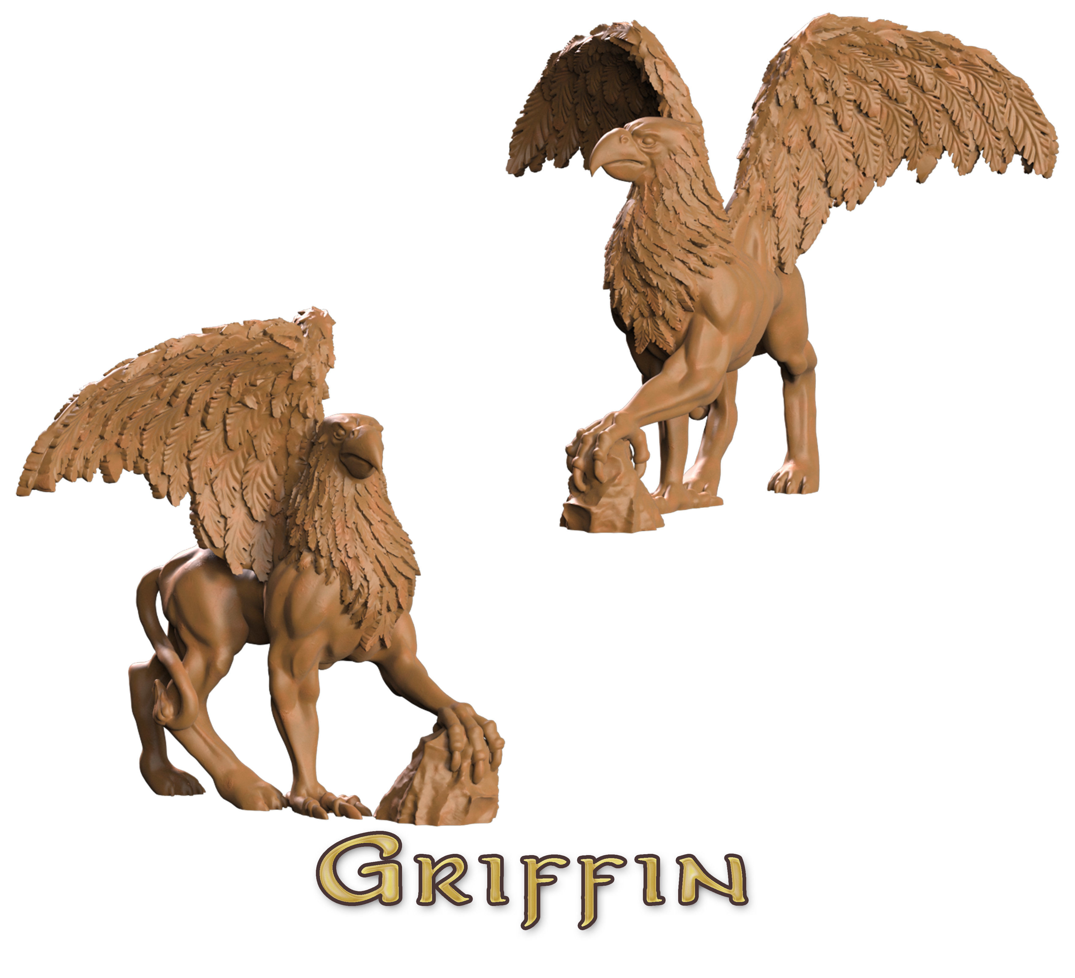 winged griffin