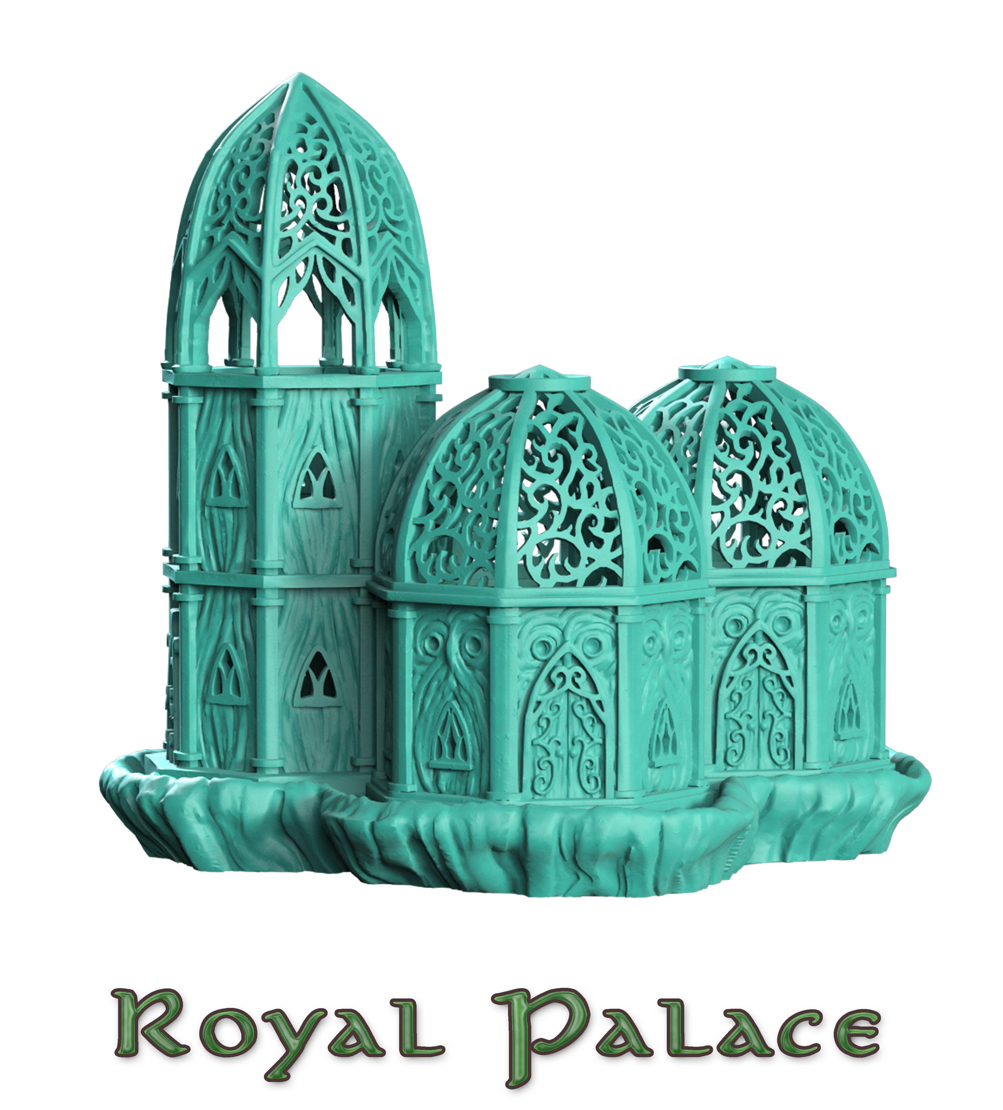 royal palace wood elf