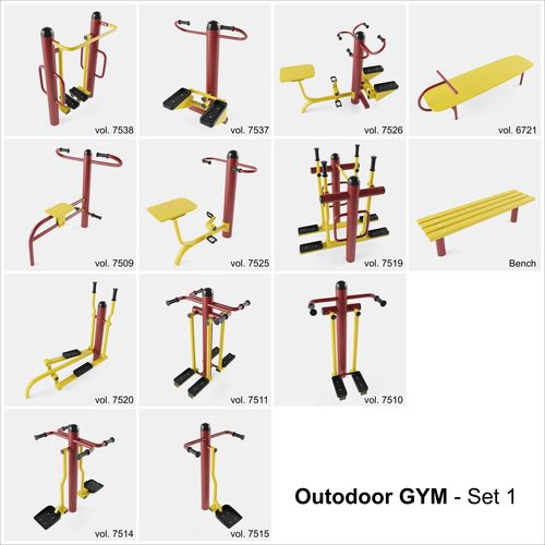 Outdoor Fitness Clipart