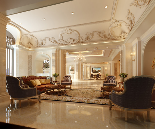 luxury lobbies and corridors collection 10 3d models 3d model max 1