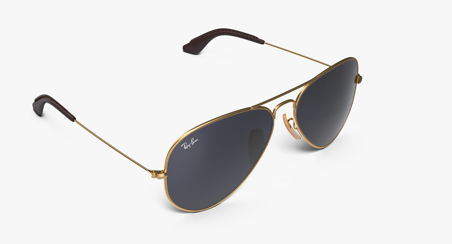 Classic Sunglasses Ray Ban Aviator Blue