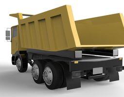 3D asset Eicher truck