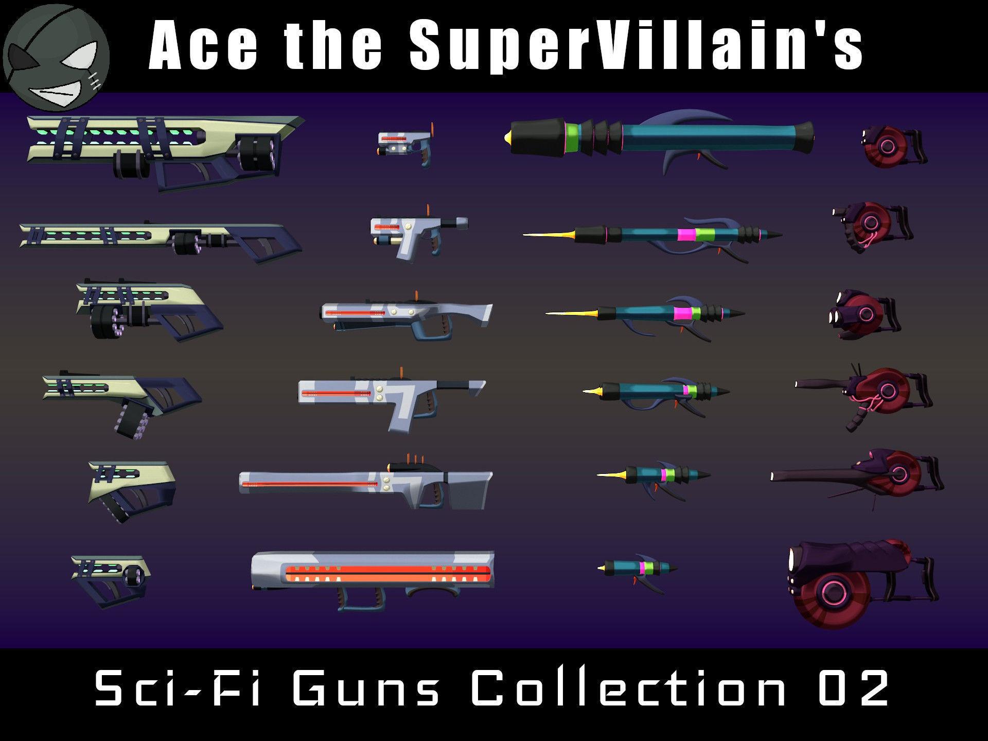 ASV SciFi Guns Volume 02