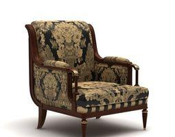 Provasi Armchair for room 3D model