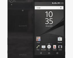 3D Sony Xperia Z5 Premium Black