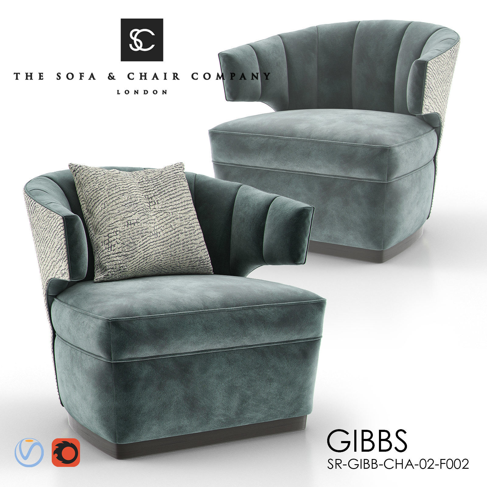 Gibbs Occasional Armchair