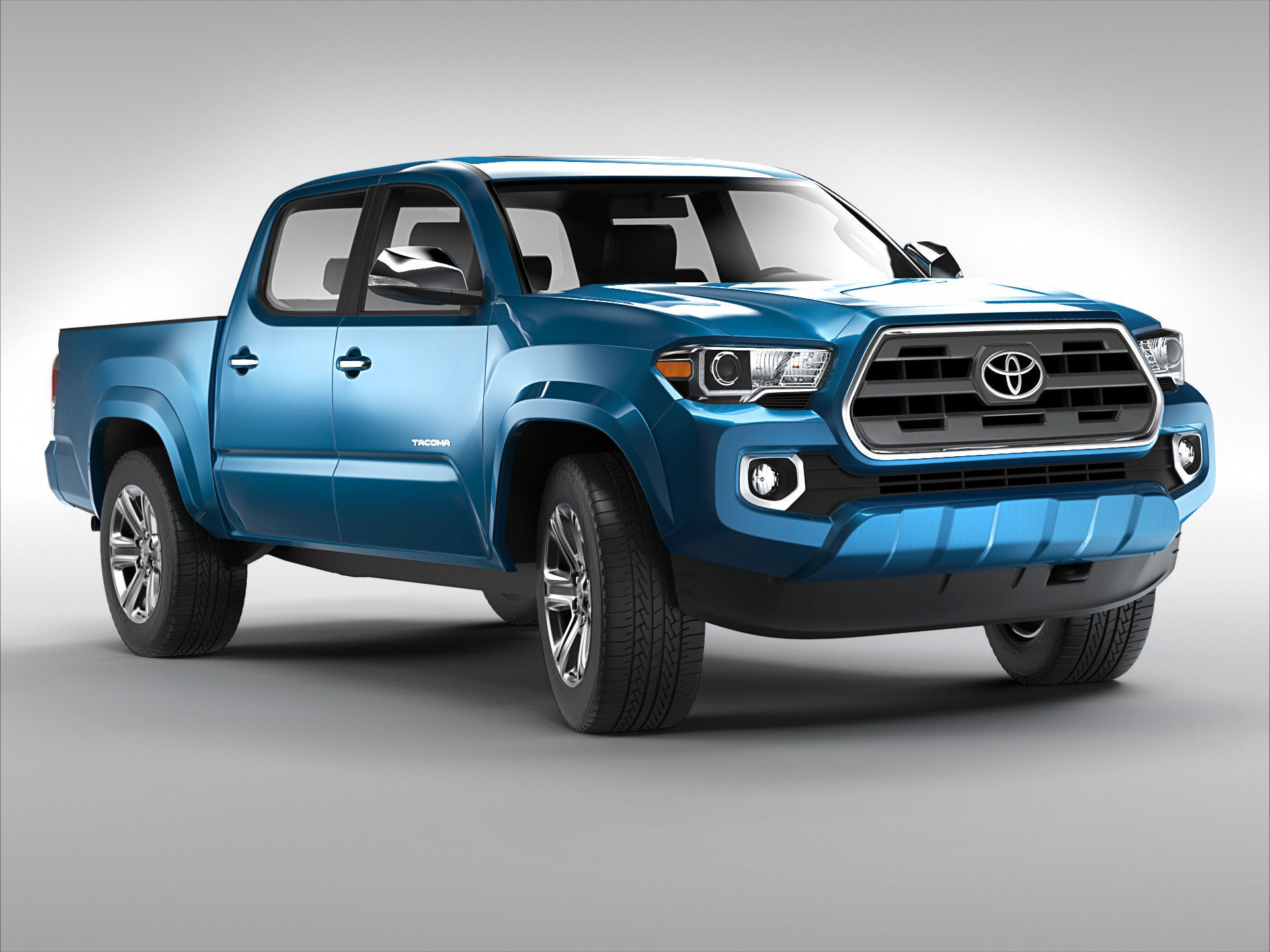 toyota tacoma 2016 3d model max obj 3ds fbx stl. Black Bedroom Furniture Sets. Home Design Ideas