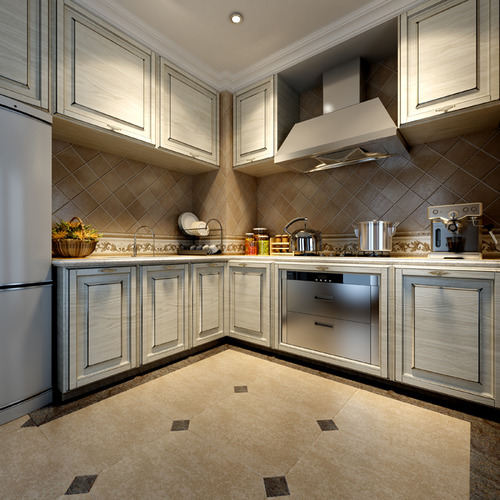 Kitchens and bathrooms collection 10 3d models 3d model max - Kitchen and bathroom design models ...