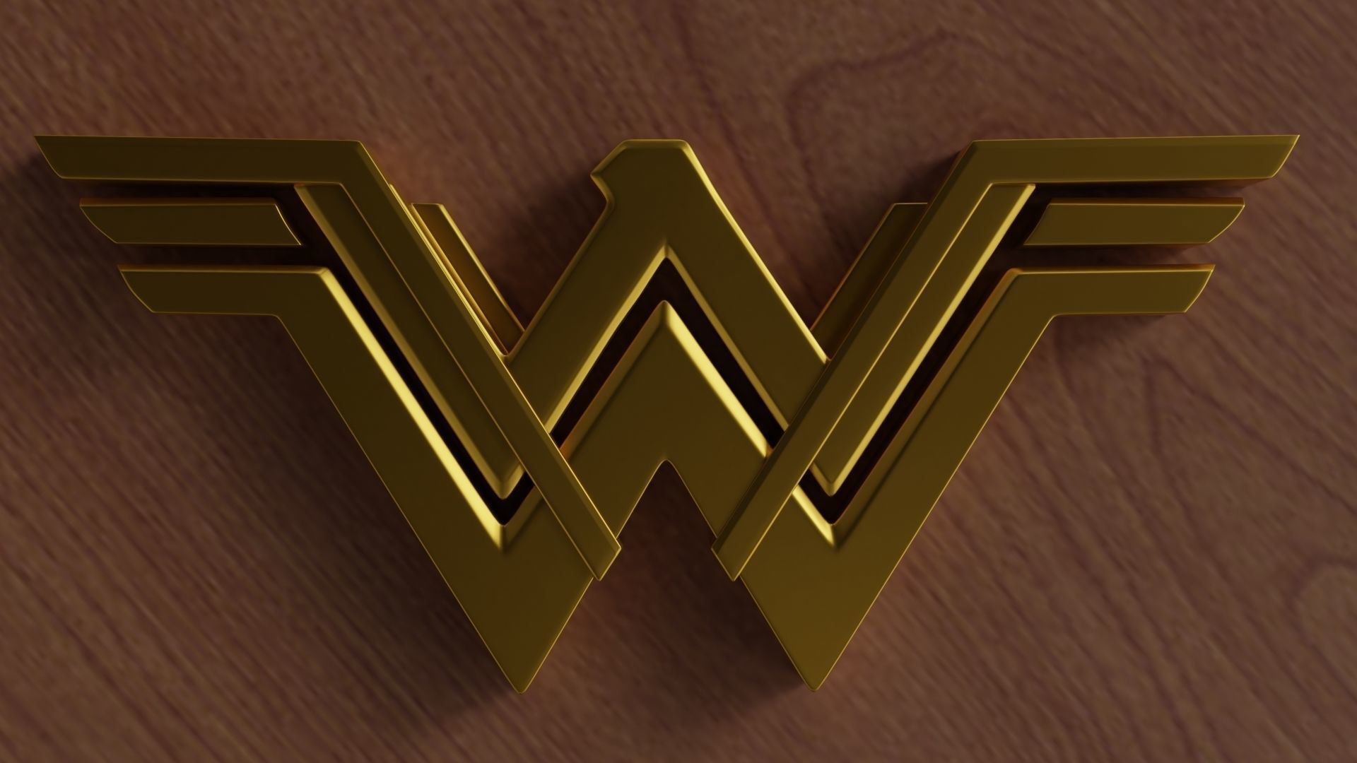 Wonder Woman logo 3D print model   CGTrader