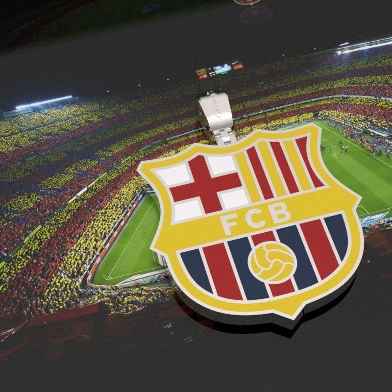 fc Barcelona pendant