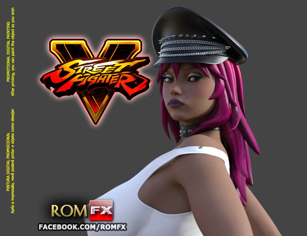 Poison - Street Fighter Character Printable