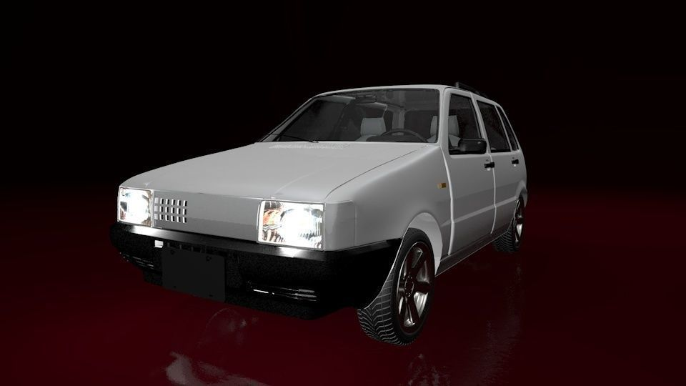 Mehran Car Animated