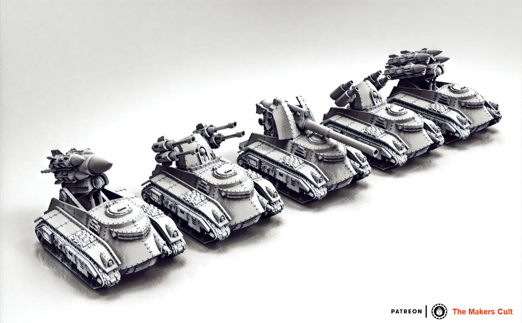 Feudal Guard Support Tanks