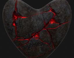 Broken Heart 3 3D Model