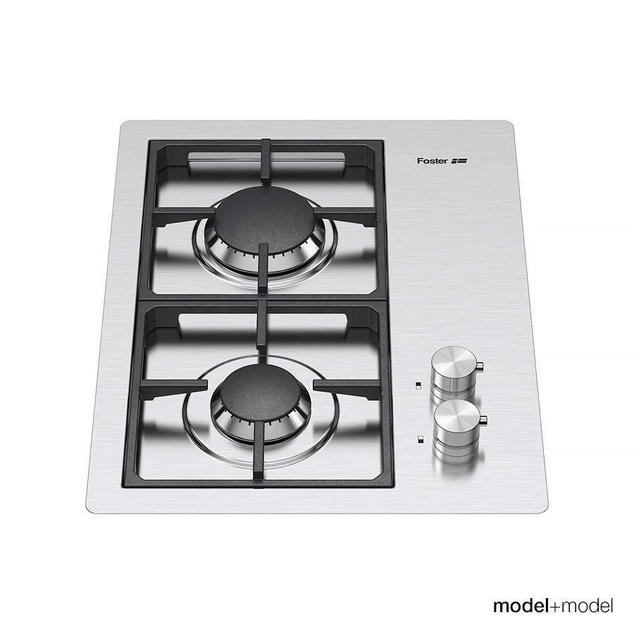 Uncategorized Foster Kitchen Appliances foster gas cooktops 3d model max obj fbx mat 5