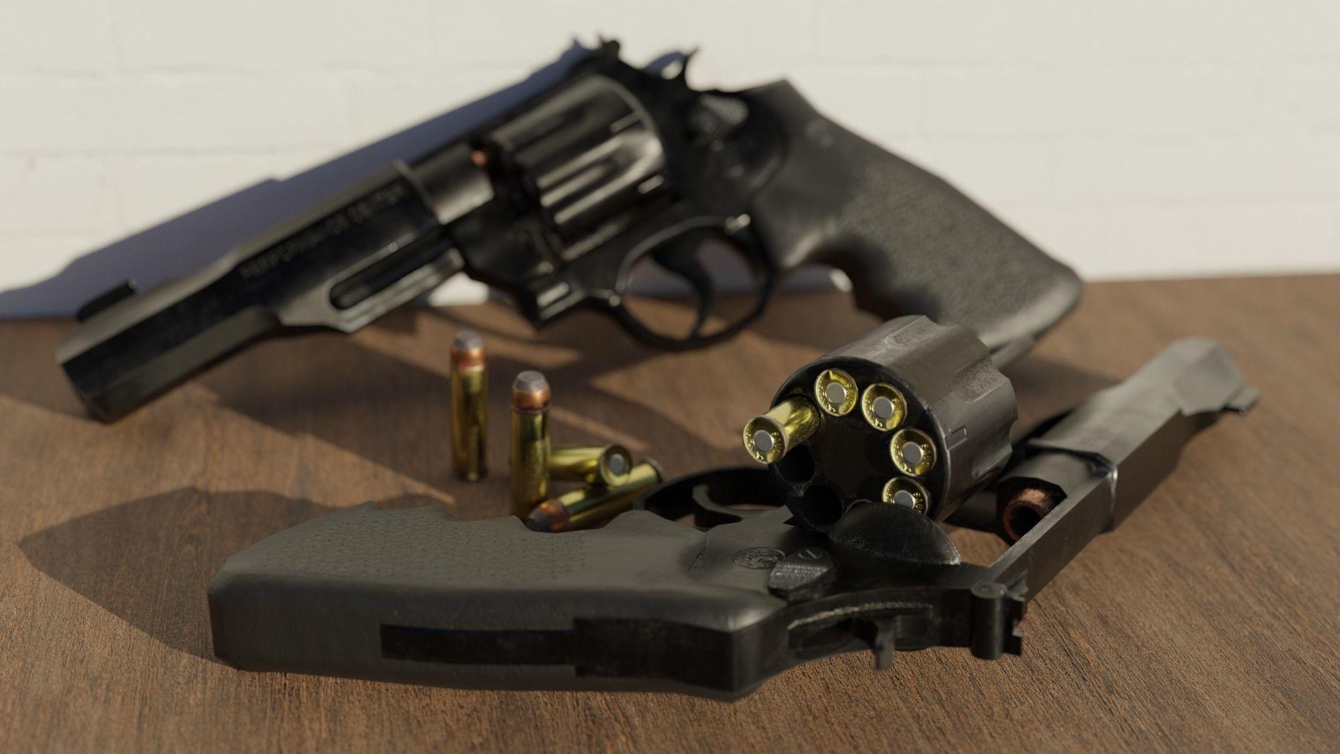 Revolver Magnum Pistol Trr8 357 caliber