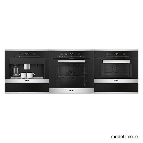 miele appliances 3d model max obj mtl fbx mat 1