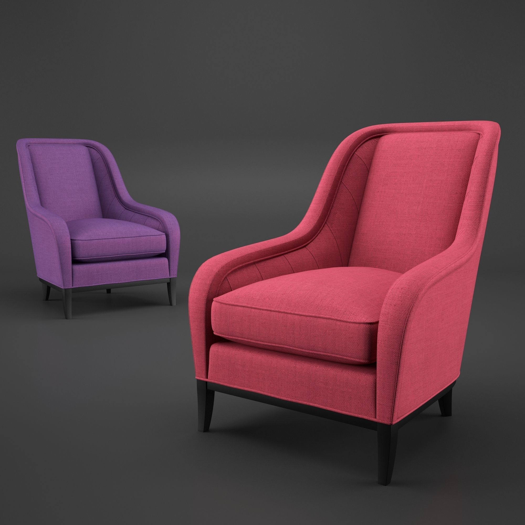 3D model Armchair Liberty | CGTrader