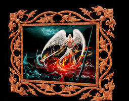 3d ornament frame 16