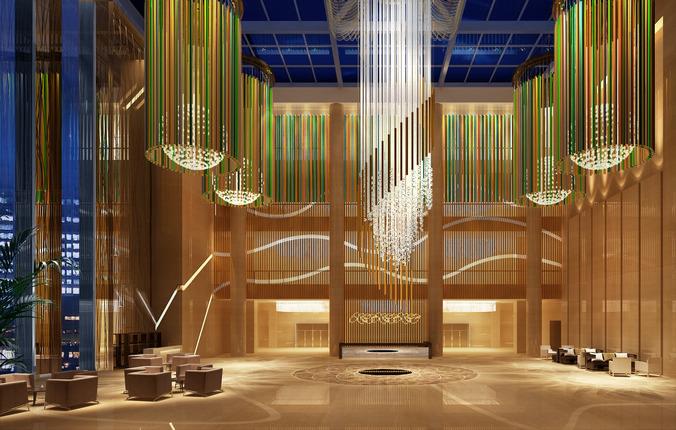 Elegant Lobby 3d Cgtrader