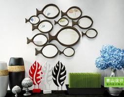 Wall decor decoration 3D model