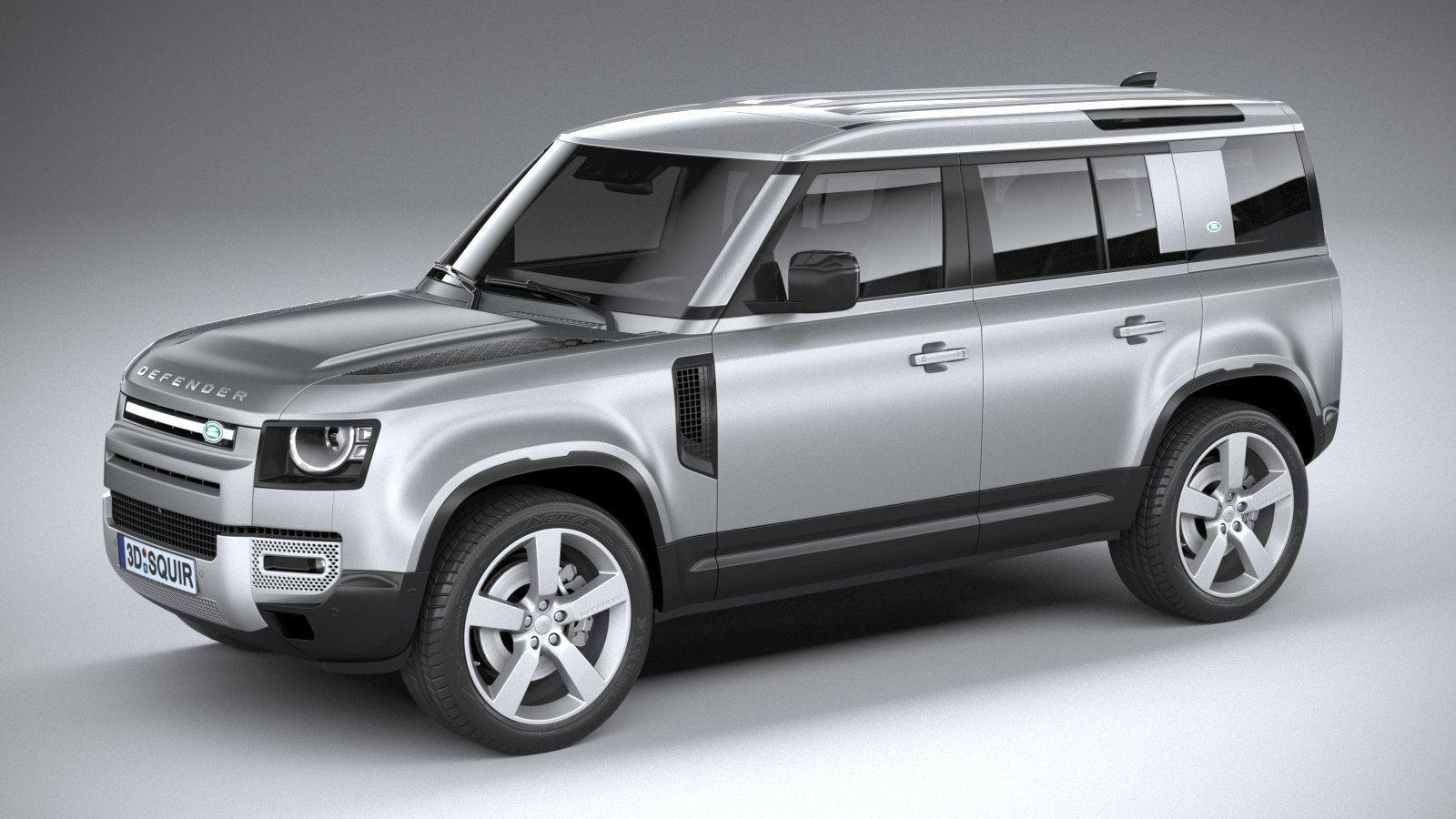 Land Rover Defender 110 2020 3D model   CGTrader