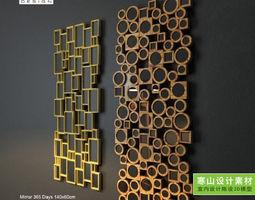 Wall decoration decorative 3D model