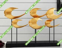 Modern decoration 3D decorative