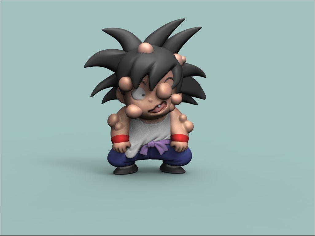 Goku training version